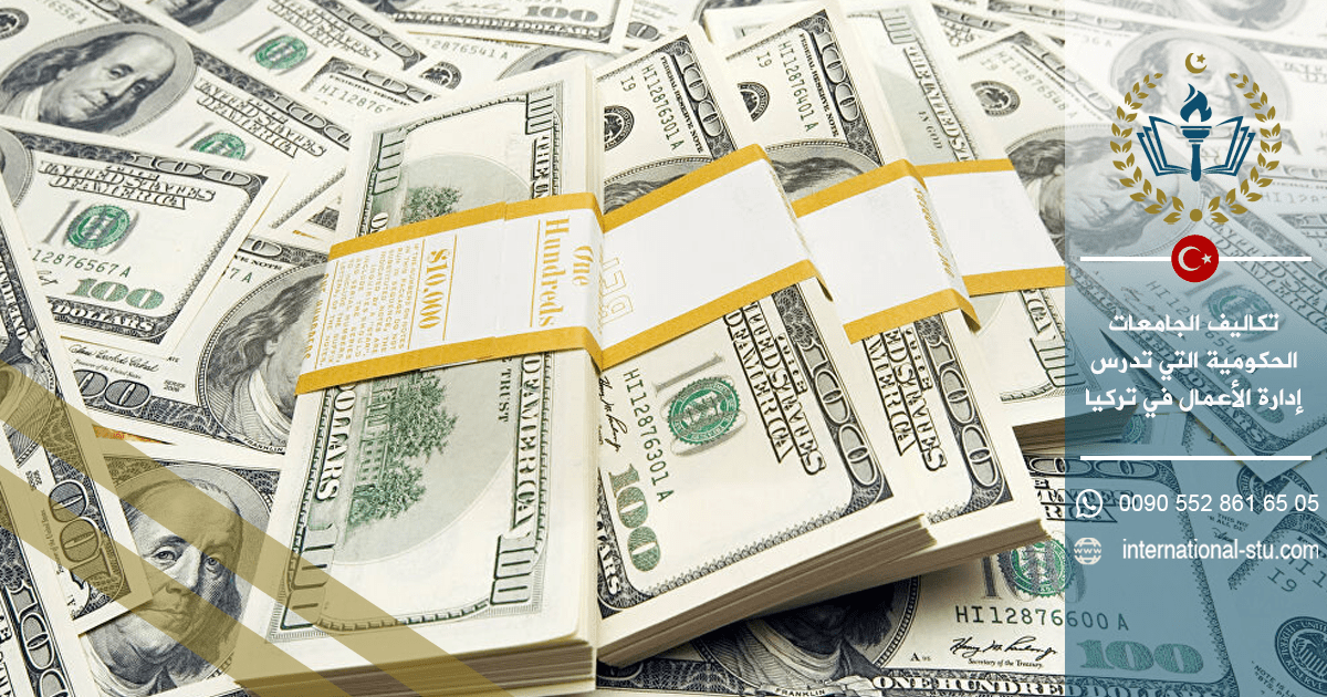 تكاليف الجامعات الحكومية التي تدرس إدارة الأعمال في تركيا